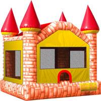 Red Castle Jumping Balloon
