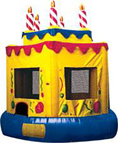 The Cake Castle Jumping Balloon