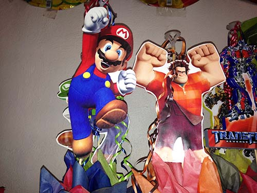 Mario and Hulk