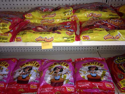 All types of Mexican Candy