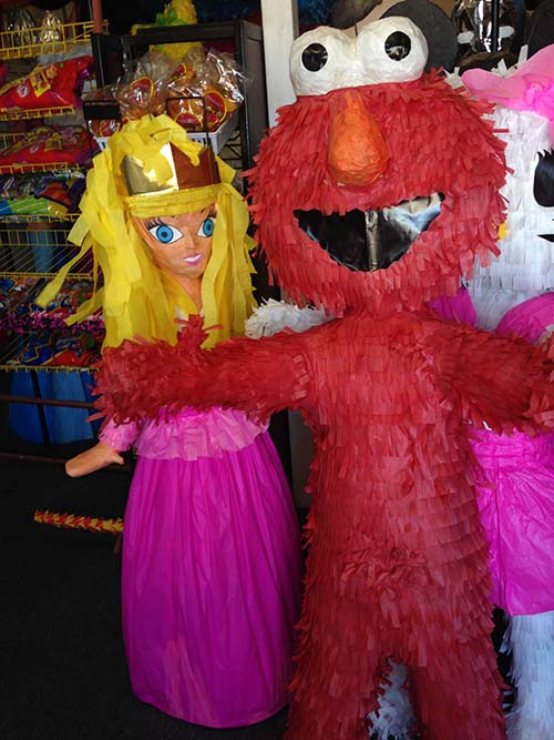 Piñatas in the Las Cruces area